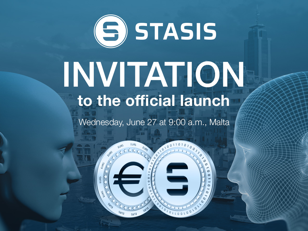 Invitation to the official launch